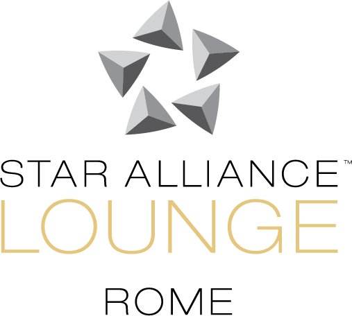 Logo of Star Alliance lounge in Rome